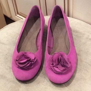 New💕💕 Aerosoles  pink/lilac shoes Sz 10.5